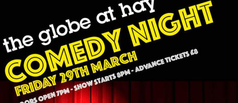 comedy night fri 29th March
